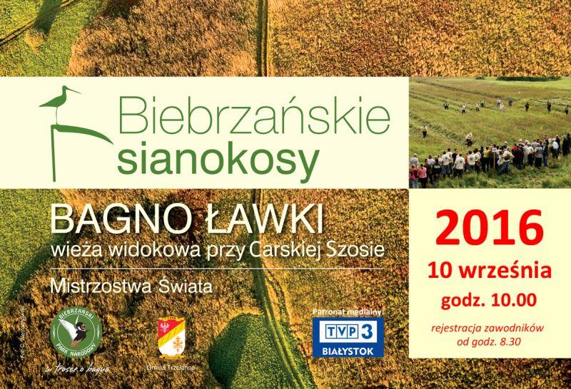 Biebrzańskie sianokosy 10.09.2016